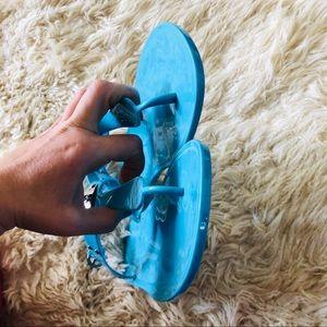 bc272d0d33eb0 Michael Kors Shoes - Michael Kors Plate Jelly Sandals 10